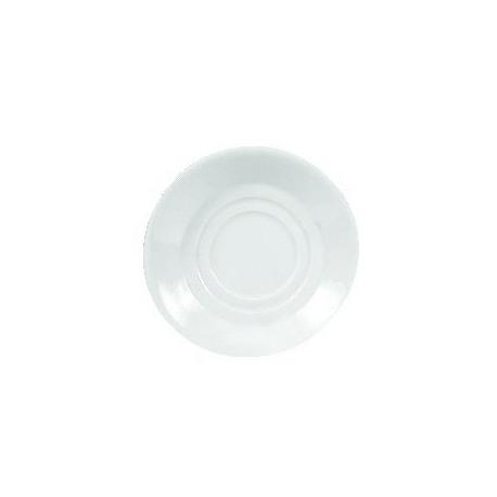 Farfurie suport portelan Yalco Blanco Stackable 14cm