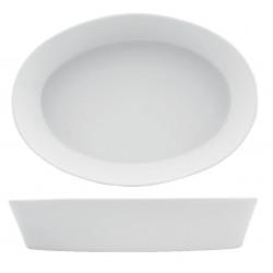 Platou oval portelan Yalco 21 cm