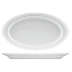 Platou oval portelan Yalco Buffet 48 cm