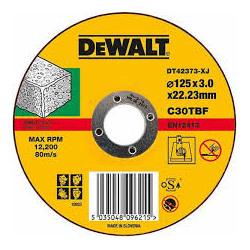Disc taiere piatra 125x3x22mm DeWalt - DT42373