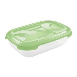 Cutie alimente din plastic dreptunghiulara Tontarelli Nuvola 2l