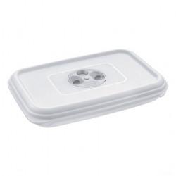 Cutie alimente din plastic dreptunghiulara Tontarelli Fresh Wave 1.3 L