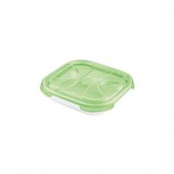 Cutie alimente din plastic patrat Tontarelli Nuvola 0.5l