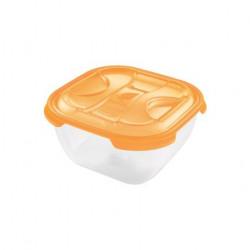 Cutie alimente din plastic patrata Tontarelli Nuvola 2L