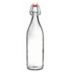 Sticla Bormioli Giara Fun portocaliu 1L