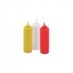 Recipient flexibil pentru mustar Yalco 36Cl rosu M03001R