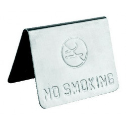 "Placuta inox ""No Smoking"" Yalco"