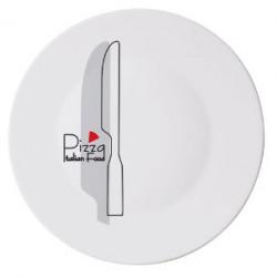 Platou servire opal Bormioli Pizza Knife 33 cm