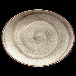 Platou oval portelan Bonna Terrain Move 31x24 cm