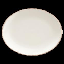 Platou oval portelan Bonna Retro Moove 31x24 cm