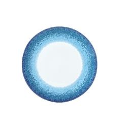 Farfurie intinsa portelan Apeiron Ionia margine albastra 27 cm