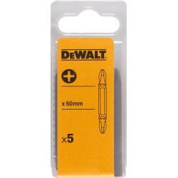 Set 5 capete de insurubare duble 60mm Pz DeWalt - DT7305