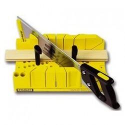 Dispozitiv de taiat in unghi cu cleme si ferastrau Stanley - 1-20-600