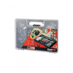 Kit 63buc 1xburghiu 8mm 1xcheie montaj 61dibluri diverse Black+Decker - M73062