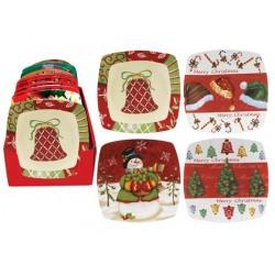 Platou ceramica Christmas 20 cm