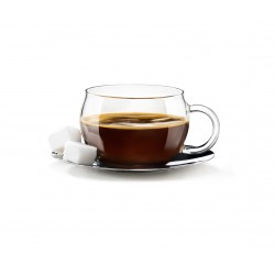Cesti espresso din sticla Bormioli Tazzina 110 ml set 4 bucati