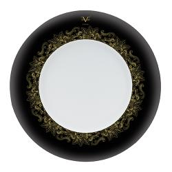 Farfurie intinsa portelan Versace 19.69 Black Dahlia 27 cm