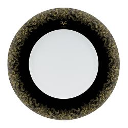 Farfurie intinsa portelan Versace 19.69 Black Dahlia 30 cm