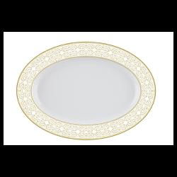 Platou oval portelan Versace 19.69  Antichi 25 cm