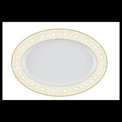 Platou oval portelan Versace 19.69 Antichi 36 cm
