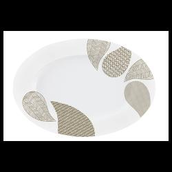 Platou oval portelan Versace 19.69 Atramento 36 cm
