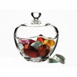 Bomboniera sticla cu capac Pasabahce Toscana