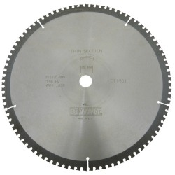 Disc metal 355x25.4x2.2mm. 90 dinti DeWalt - DT1901