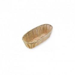 Cos bufet ratan oval 23 x 10 cm