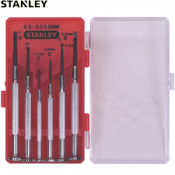 Set 6 surubelnite de precizie Stanley - 1-66-039
