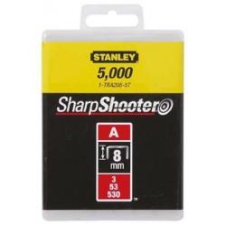 Capse pentru aplicatii uzuale tip A 8 mm 5000 buc Stanely -1-TRA205-5T