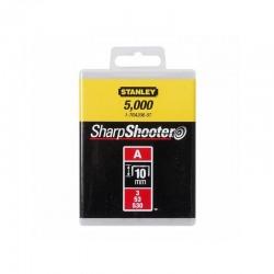 Capse pentru aplicatii uzuale tip A 10 mm 5000 buc  Stanley - 1-TRA206-5T