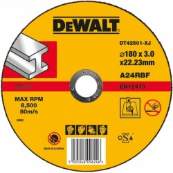 Disc DeWalt taiere metal 180x3x22.2mm- DT42501