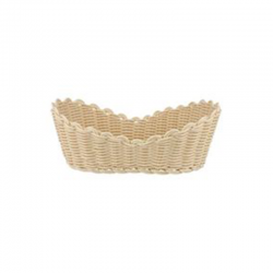 Cos bufet Rattan oval  23*13 cm