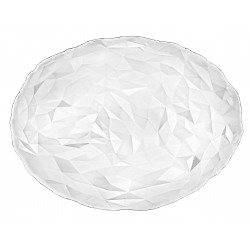 Platou oval sticla Bormioli Diamond 35 x 26 cm