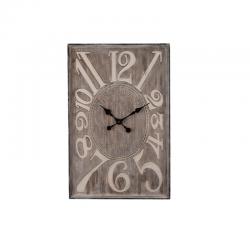 Ceas decorativ din lemn pentru perete Trimar Shabby Chic