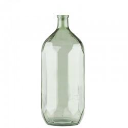Vaza din sticla verde Amsterdam Trimar Stencil 46 cm