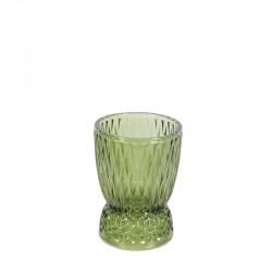 Suport sfesnic sticla verde Kensington Trimar Stencil 15 cm