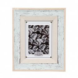 Rama foto lemn model patina Trimar Stencil 13x18 cm