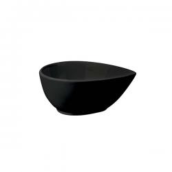 Bol lacrima Ionia Black&White negru 10x4.9 cm