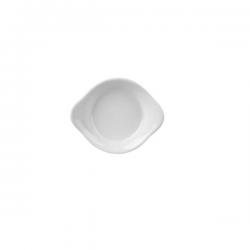 Bol alungit Ionia Black&White alb 8.5x2cm