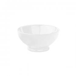 Bol portelan Ionia Black&White alb 9 x 9.4 cm