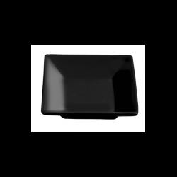 Bol patrat Ionia Black&White negru 6.7x6.7 cm