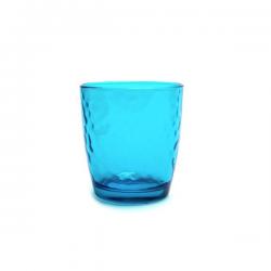 Pahar sticla Borlmioli Palatina albastru 320 ml