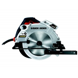 Ferastrau circular Black+Decker 1400W 65 mm 190x16 mm - KS1400L