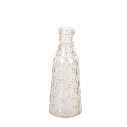 Vaza de sticla cu decoratiuni Bergen ivoar Trimar Cool Retro 25.7 cm