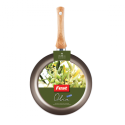 Tigaie adanca aluminiu antiaderent Olive Fest 26 cm