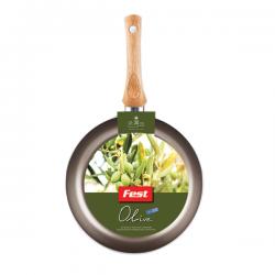 Tigaie adanca aluminiu antiaderent Olive Fest 30 cm