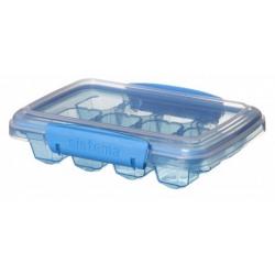 Recipient plastic mediu cu capac pentru cuburi de gheata Sistema