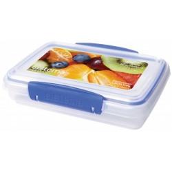Cutie alimente plastic cu capac Sistema Klip It 380 ml