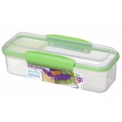 Cutie alimente plastic  Sistema Snack Attack To Go 410 ml diverse culori